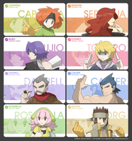 Asnolv Region -Gym Leaders- by zephleit