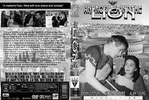 Androcles and the Lion DVD cover by Black-Battlecat