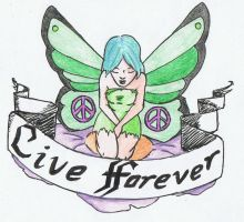 Live Forever by anarchlien
