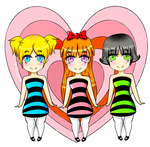 PowerPuff Girls by Fracchan10