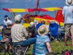 Oshkosh Airshow 6. Wisconsin. 2015 Red and yellow. by jennystokes