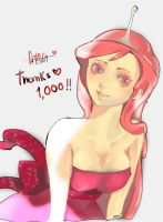 Thanks 1000 by Pastenaga