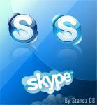 Skype icons by stenoz72
