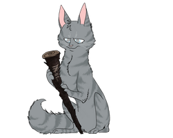 Art trade - Jayfeather by DoxySocks