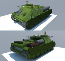 KV-1 command tank by Giganaut