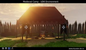 Medieval Camp Game Environment by Shyralon