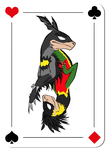 DC Raptor Card thing by Blackwolfpaw