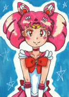 Sailor Chibi Moon ATC by Angie-Laura