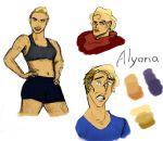 Alyona Practice by TheArmyArtist
