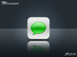 Messages for iPhone 4 by JDL16