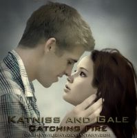 Katniss and Gale. Catching Fire by DashaTwilight
