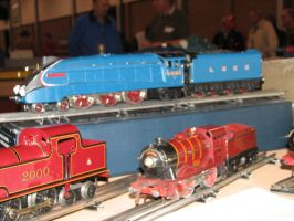 Hornby and ACE O Gauge Trains by TaionaFan369