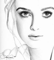 Keira Knightly by LCArtDesign