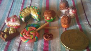 Some food by polymer clay by COVipeanut
