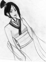 Mulan by BlackRozePetal