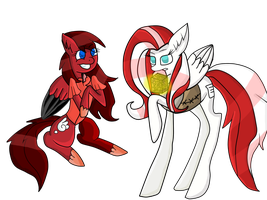 Mlp a story told style : Nojiko And Marta by teoflory12