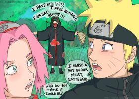 Naruto: Impostor of Team 7.5 by lauraneato