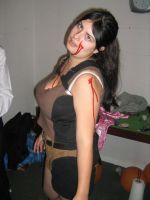Game Over Lara Croft by LuciaDuvant