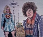 DOCTOR WHO AND SUPERGIRL 715 by MajorO
