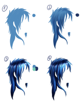 Simply hair tutorial ''Ran'' by Rachiko