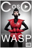 Cosplay Magazine cover -Wasp by moshunman