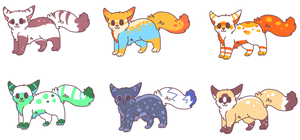 free kitty adopts TAKEN! by P0CKYY