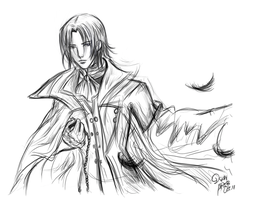 Glen Baskerville Sketch by De1in
