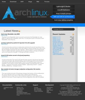 Archlinux redesign No. 2 by xCrAcx