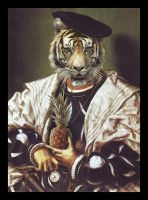 The Nobleman of the Savannah by CanteRvaniA