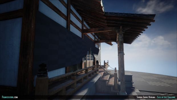 Sanada Shrine UE4 WIP 09 by NitroxArt