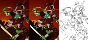 TMNT (process) by placitte2012