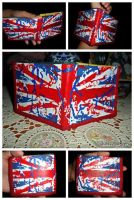 Union jack wallet by KIMoabe