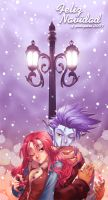 :Just Begin to Snow: by SaiyaGina