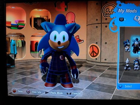 Sonic Mod 1 Outfit 2 by bullzye
