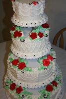 sept 6 wedding cake by neaters2000