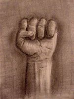 Freehand Graphite Fist 01 by voodoochild84