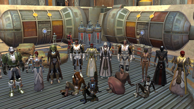 SW:TOR - Guild Photo Day on Tython (01MAR13) by Xoza