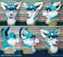 Santeria Fursuit Head by LobitaWorks