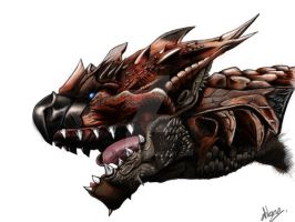 Rathalos by atikarn
