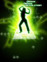 DDR Poster Green by JetFangInferno