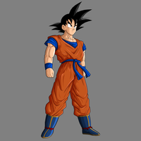 Goku base - remake by drozdoo