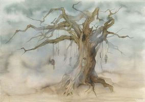 Hangmen tree by annick