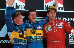 1995 Spanish Grand Prix Podium by F1-history