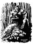 Mignola-wolvie-for-george by povorot