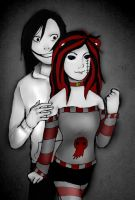 [Request] Suicide bear x Jeff The Killer by Blaye-Hatsuki11