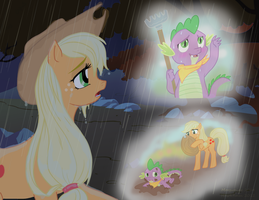 Applejack: Forever and for Allways by Morgwaine