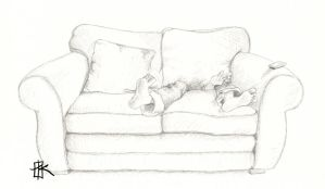 The couch that eats people by Wolf-Suit