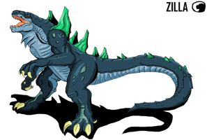 Godzilla Animated:Zilla Jr. by Blabyloo229