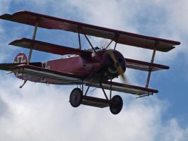 Triplane Sywell by davepphotographer