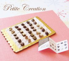 tray of chocolates 1 by PetiteCreation